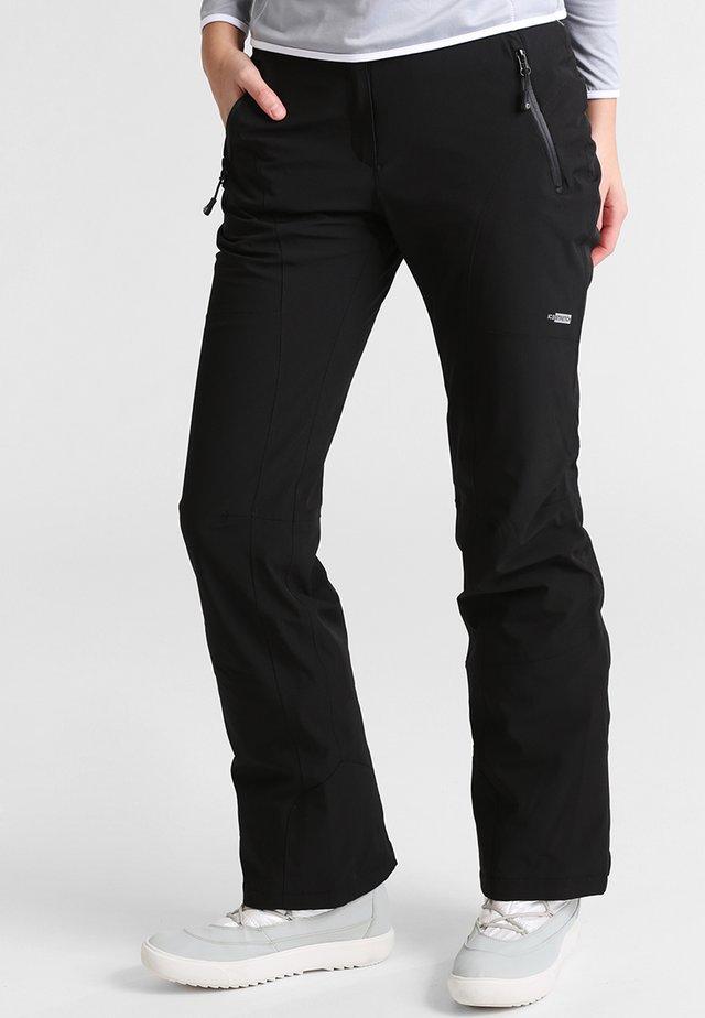 NOELIA - Spodnie narciarskie - schwarz