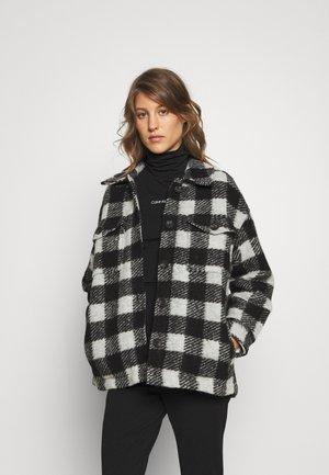 FENIX JACKET - Summer jacket - black/white