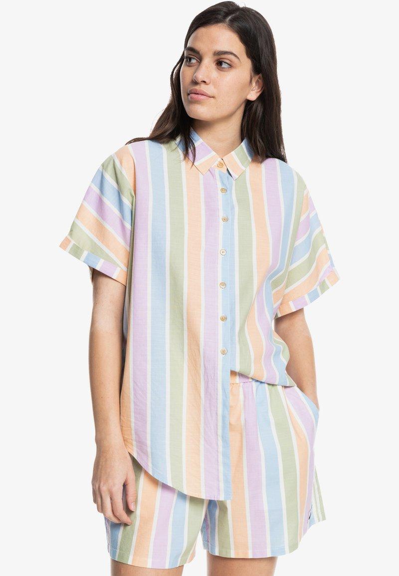 Quiksilver - PACIFIC DAZE  - Button-down blouse - sherbet stripe peach