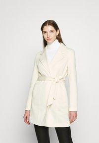 Vero Moda - VMVERODONA  - Short coat - birch/melange - 0