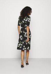 Banana Republic - PORTRAIT NECK - Jersey dress - black - 2