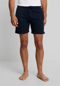 Schiesser - SLEEPWEAR TROUSERS SHORTS  - Pyjama bottoms - dark blue - 0