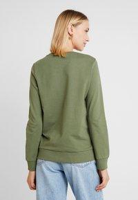 Noisy May - NMPANA SOLID - Sweatshirt - olivine - 2