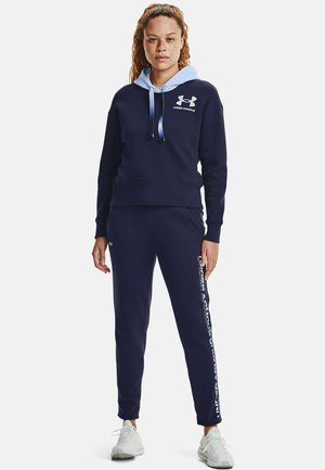 RIVAL GRDIENT  - Tracksuit bottoms - midnight navy