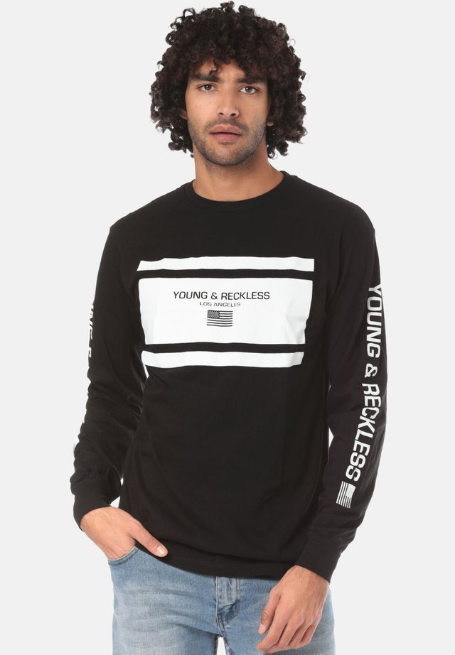 INCOPORATED LANGARM - Long sleeved top - black