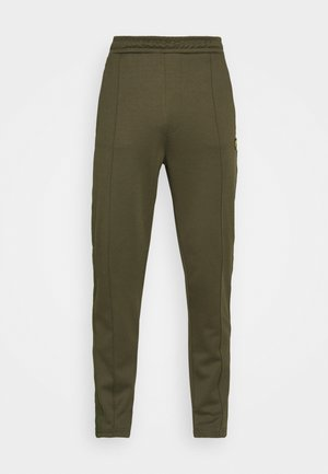 TRACK PANT WITH TAPING - Tracksuit bottoms - trek green