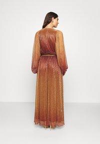 InWear - GIZELA DRESS - Suknia balowa - cayenne ombre - 2