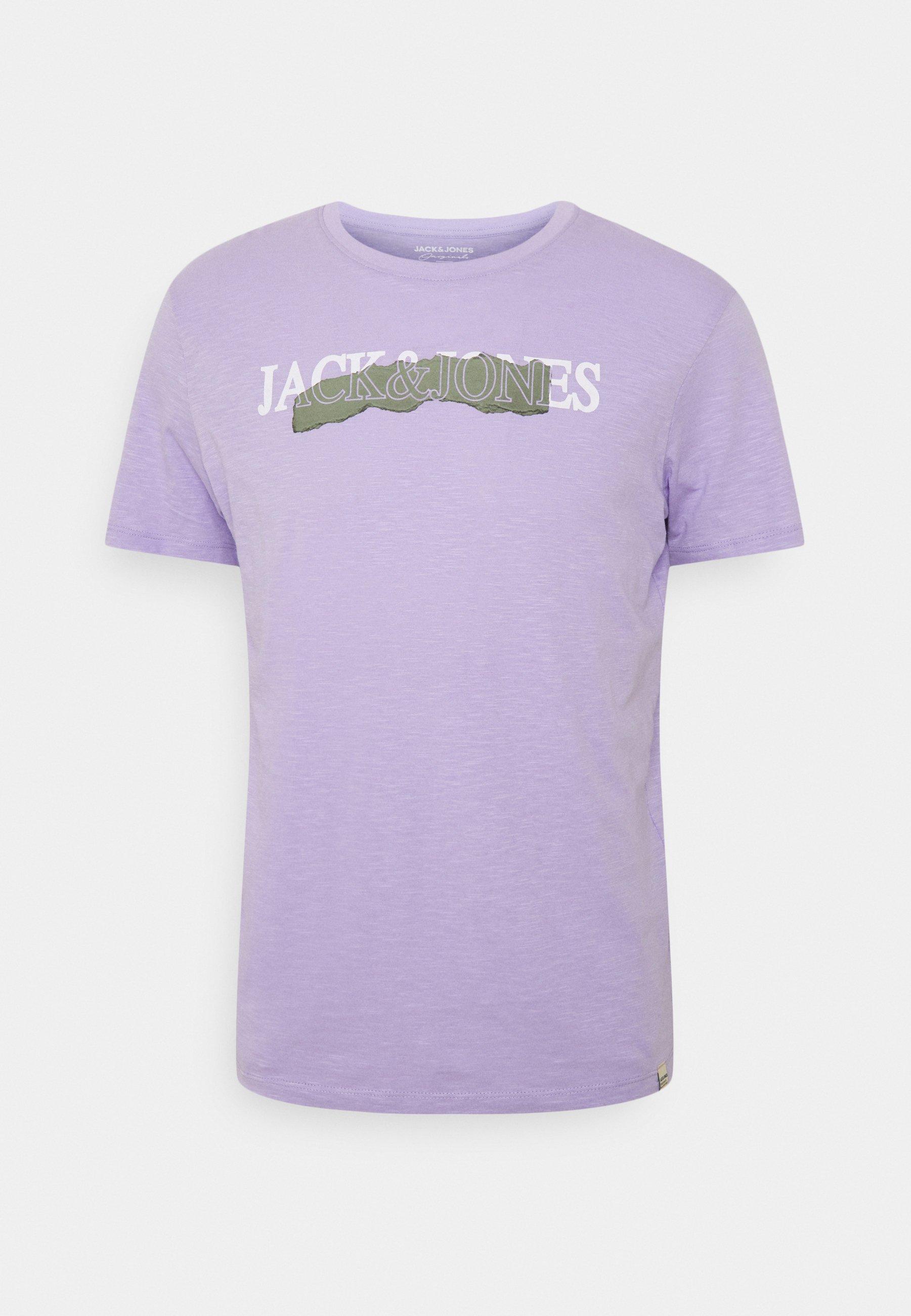 Men JORSNARE TEE CREW NECK - Print T-shirt