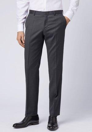 GIBSON - Jakkesæt bukser - dark grey