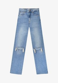 Stradivarius - Jean droit - light blue - 4