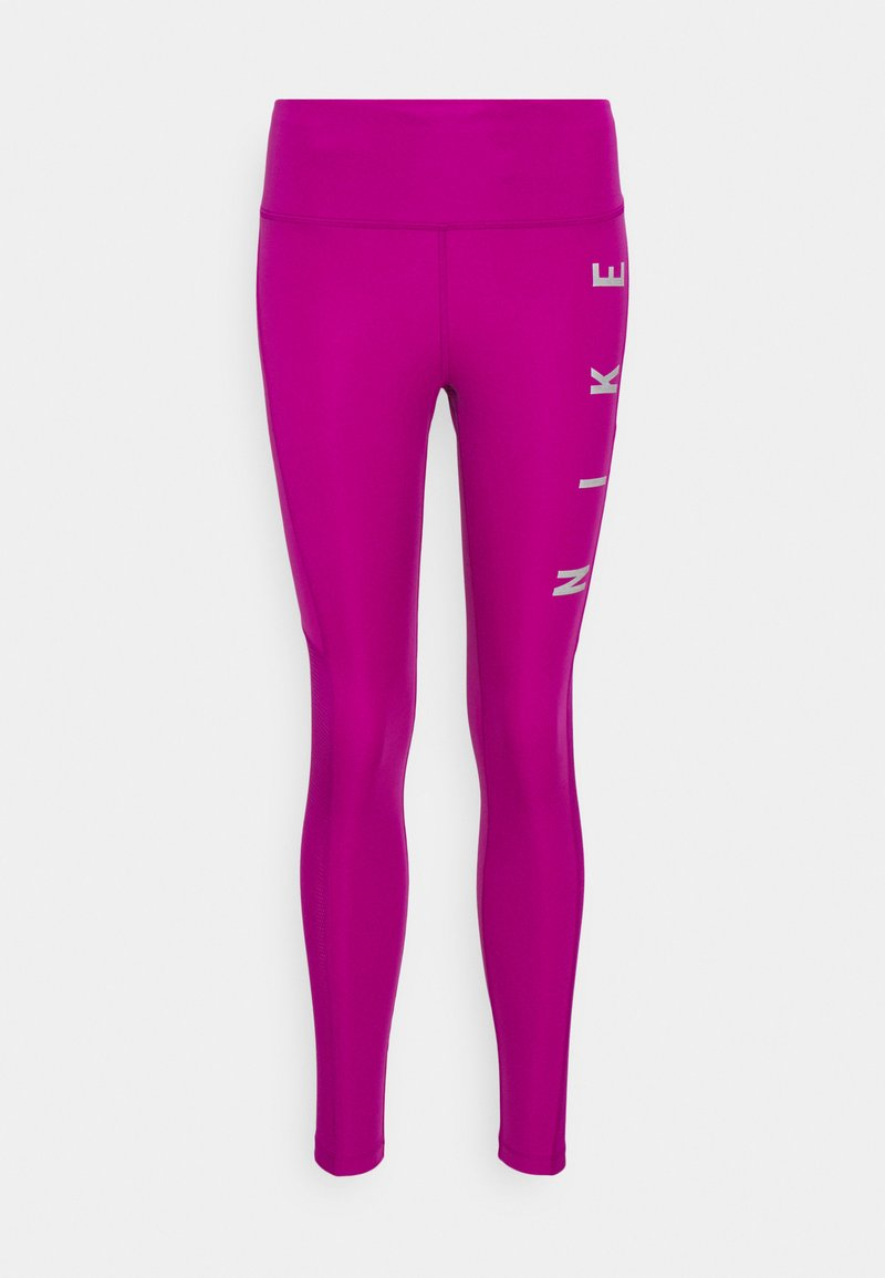 Nike Performance - RUN EPIC FAST - Tights - red plum/reflective silve