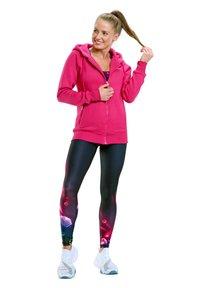 Winshape - Zip-up sweatshirt - deep pink - 1