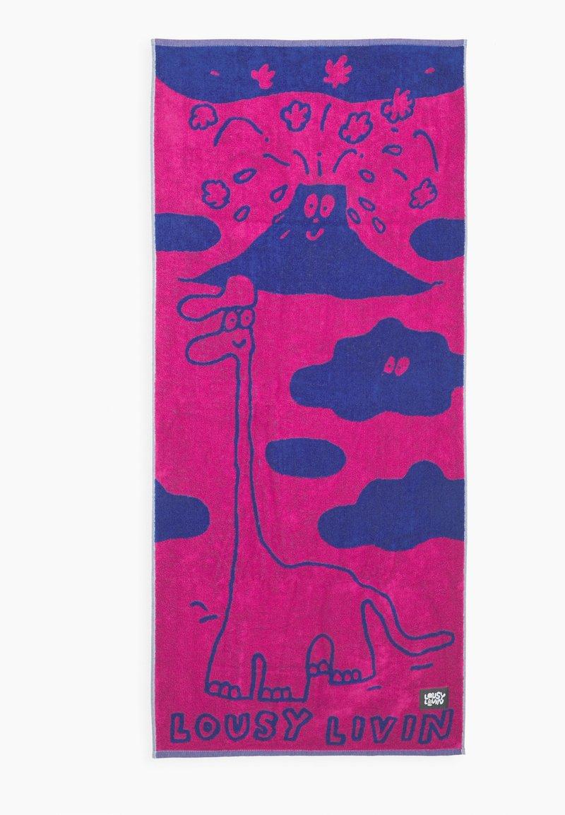 Lousy Livin Underwear - TOWEL DINOS UNISEX  - Toalla de playa - pink