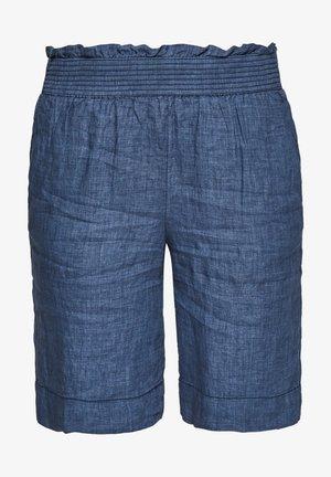 Denim shorts - faded blue melange