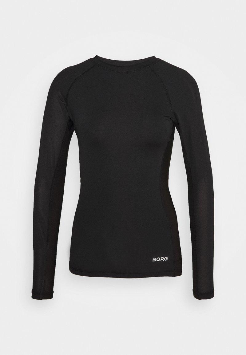 Björn Borg - CARY TEE - Sports shirt - black beauty