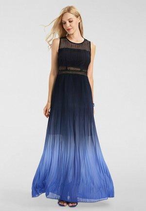 Robe longue - nachtblau-azurblau