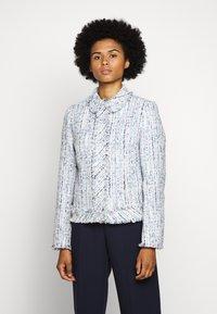 KARL LAGERFELD - CLASSIC JACKET - Summer jacket - light blue - 0