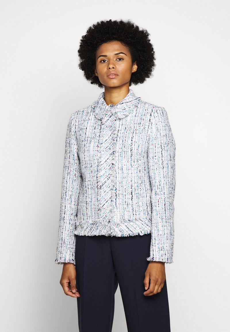 KARL LAGERFELD - CLASSIC JACKET - Summer jacket - light blue