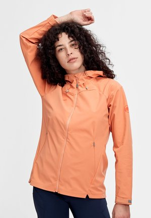 SAPUEN  - Soft shell jacket - orange