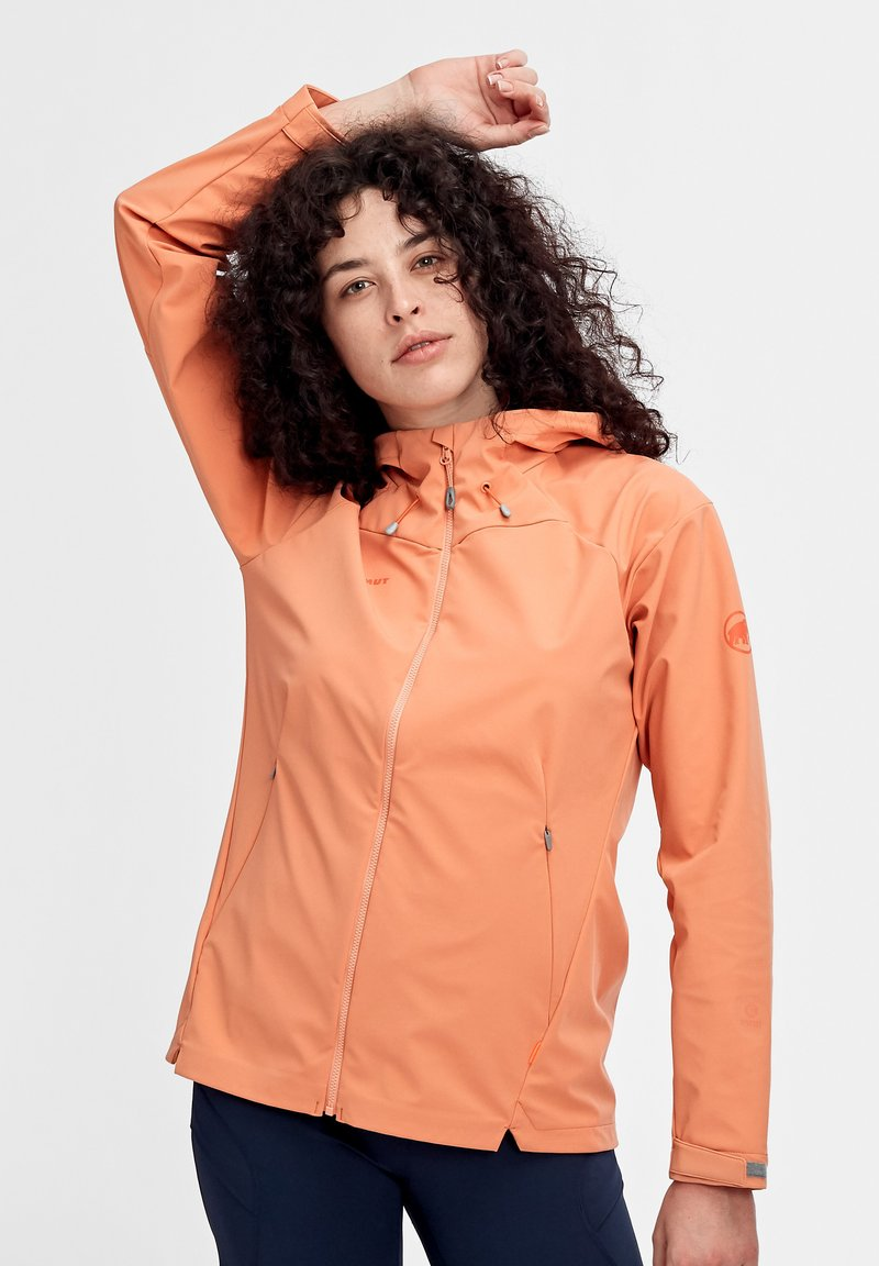 Mammut - SAPUEN  - Soft shell jacket - orange