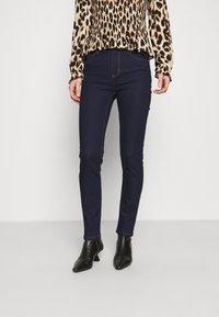 Marks & Spencer London - SLIM - Džíny Slim Fit - dark blue - 0