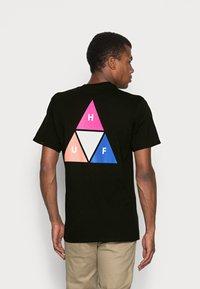 HUF - PRISM TEE - Print T-shirt - black - 2