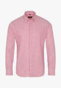 Eterna - SLIM FIT - Shirt - rot/weiss - 3