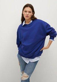Mango - Sweatshirt - bleu - 0