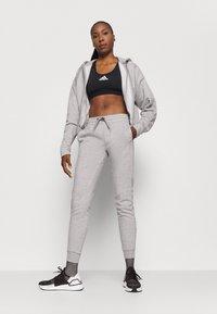 adidas Performance - PANT - Pantaloni sportivi - mgreyh/pnktin - 1