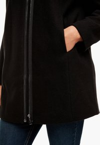 Triangle - MIT REISSVERSCHLUSS-DETAIL - Classic coat - black - 4