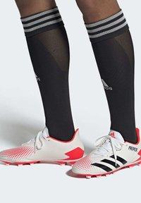 adidas Performance - PREDATOR 20.4 FXG - Moulded stud football boots - ftwwht/cblack/pop - 1