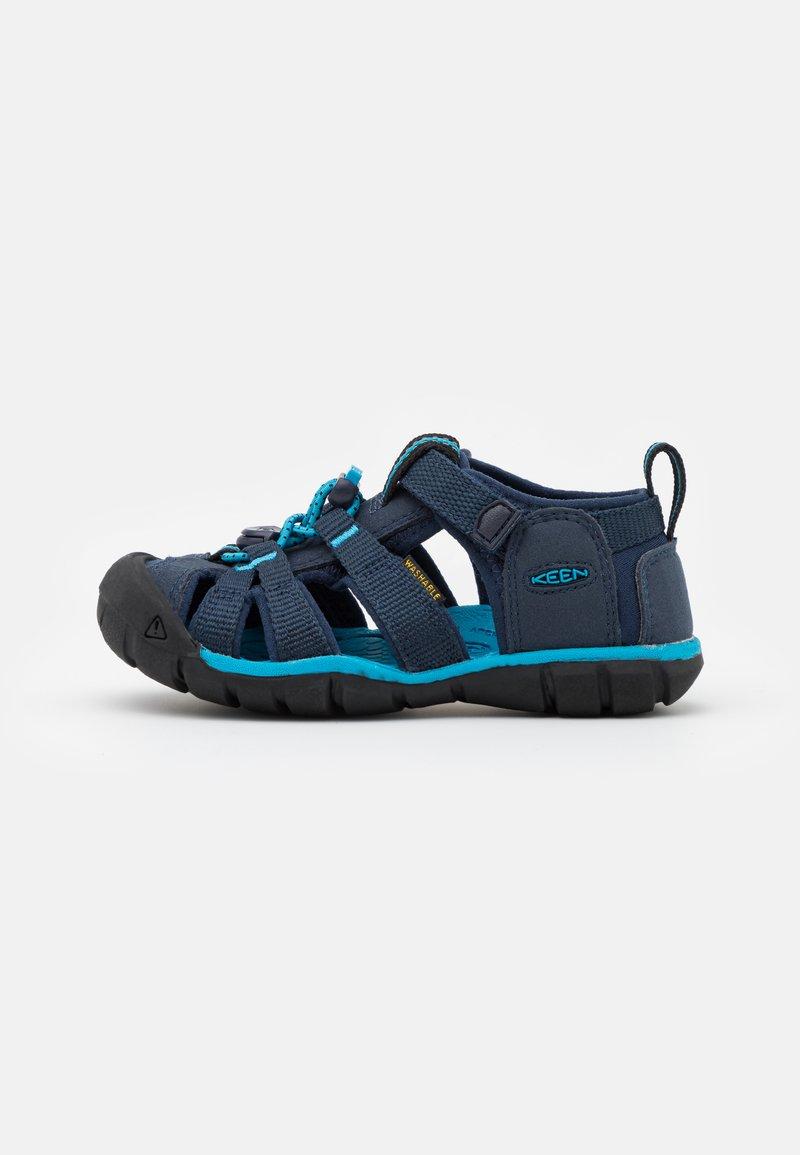 Keen - SEACAMP II CNX UNISEX - Sandalias de senderismo - black iris/vivid blue