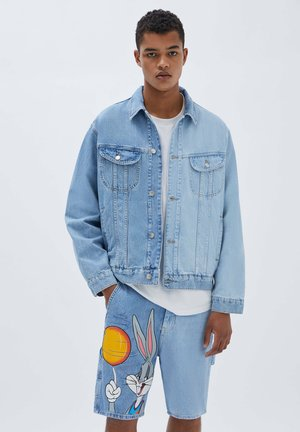 SPACE JAM - Giacca di jeans - blue