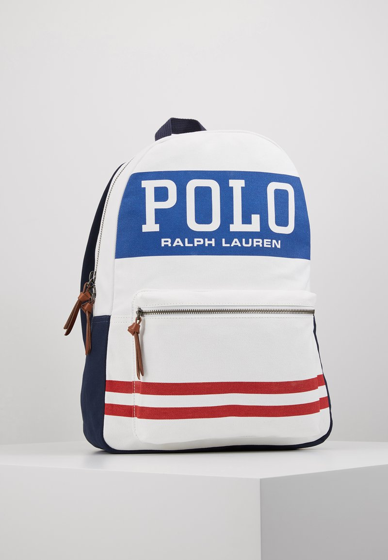 Polo Ralph Lauren - BIG BACKPACK - Batoh - white