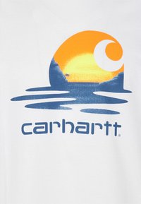 Carhartt WIP - LAGOON - Print T-shirt - white - 2