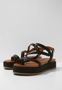 Inuovo - Platform sandals - black blk - 8