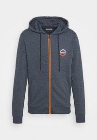 JJDELIGHT ZIP HOOD - Zip-up sweatshirt - navy blazer melange