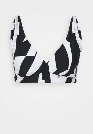 LIDO BEACH  - Bikini top - black