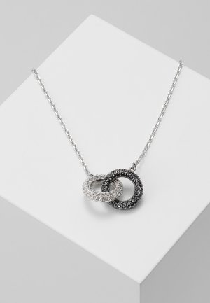 NECKLACE DOUBLE - Halskette - jet hematite