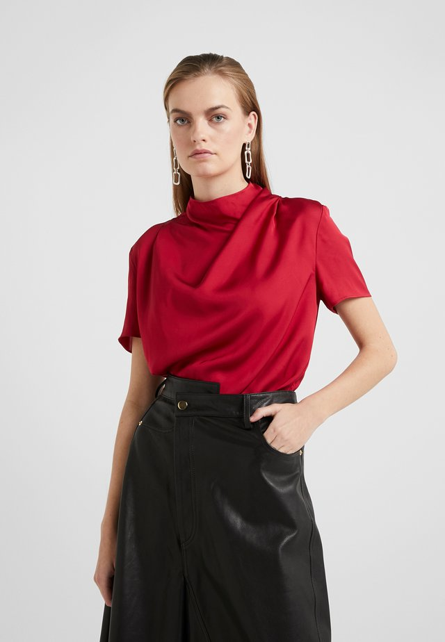 VOLONA - Blouse - wicked red