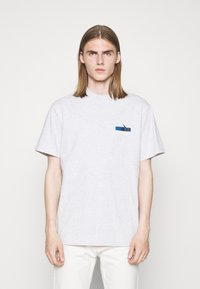 Han Kjøbenhavn - BOXY TEE - Print T-shirt - grey melange - 0