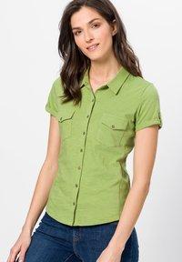 zero - Button-down blouse - grass green - 0