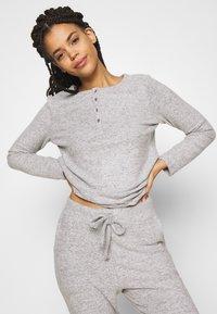 Anna Field - SET - Pyjamas - dark grey - 3