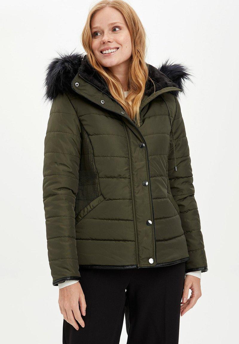 DeFacto - Winter jacket - khaki