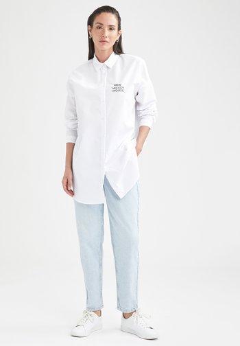 MICKEY & MINNIE  - Button-down blouse - white