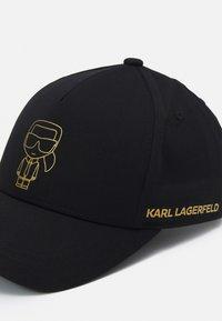 KARL LAGERFELD - BASECAP UNISEX - Casquette - black - 4
