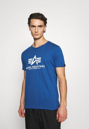 RAINBOW  - Print T-shirt - nasa blue