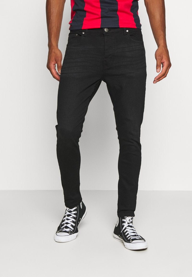 Brave Soul - MADISONCHARC - Jeans Tapered Fit - charcoal