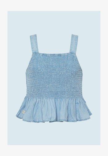Blouse - bleach blue