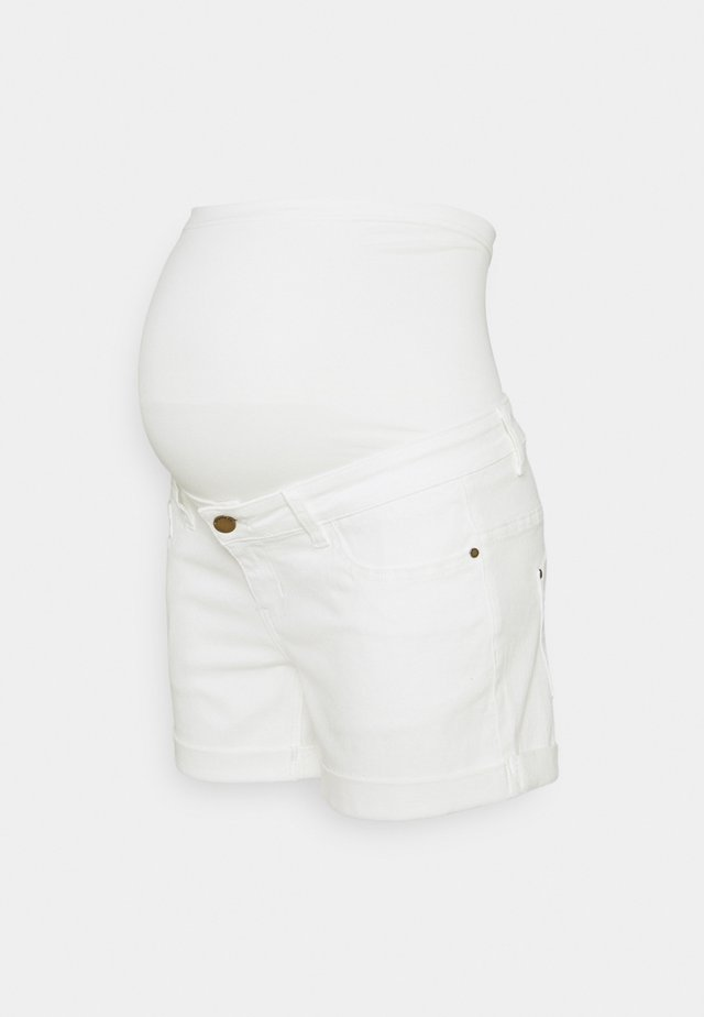 ROLL UP - Shorts di jeans - ecru